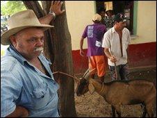 Livestock market in Bezzeros, Pernambuco