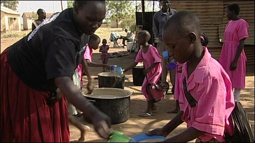 Uganda food distribution