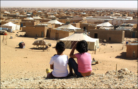 Refugee camps in Algeria