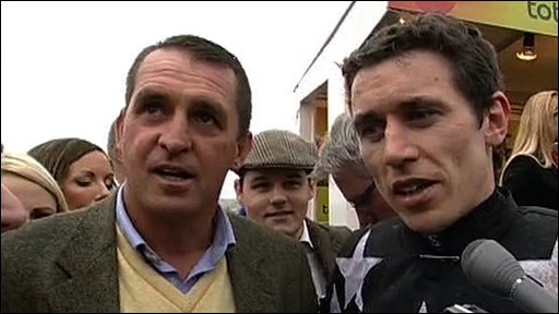 Gold Cup-winning jockey Paddy Brennan 