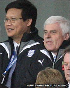 Datuk Chan Tien Ghe and Peter Ridsdale