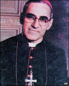 Archbishop Oscar Romero - file photo