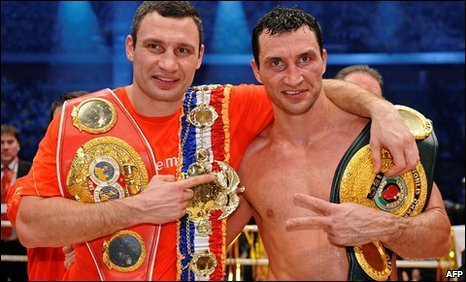 Wladimir and Vitali Klitschko