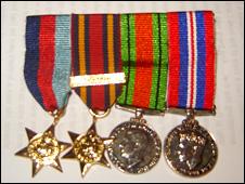 David Norman Davies's medals