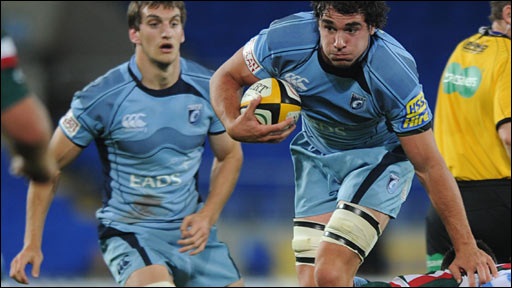 Cardiff Blues back-rower Andries Pretorius