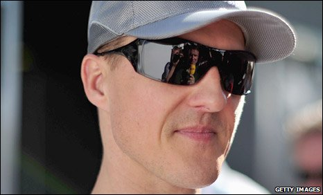 Michael Schumacher in Melbourne