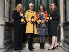L-R: Gill Riley, Laura Tenison, Victoria Stapleton, Louise Wymer