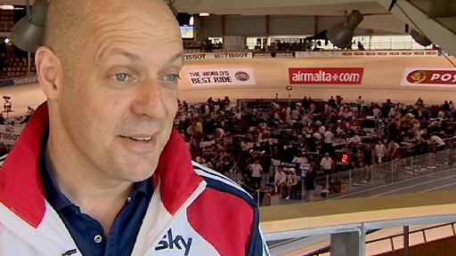 British Cycling's performance director Dave Brailsford