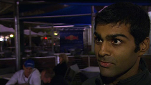 Hispania's Karun Chandhok