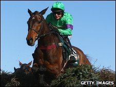 Liam Treadwell on the 2008 Grand National winner Mon Mome