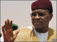 Ex-President Tandja (file image)