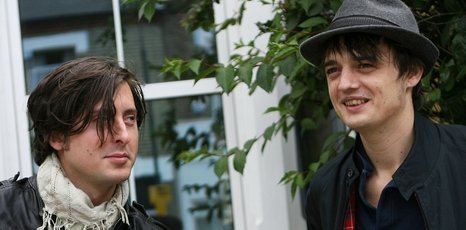 The Libertines&#039; Carl Barat and Peter Doherty