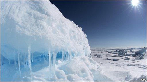 Arctic landscape, Lancaster Sound, Nunavut, Canada
