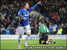 Ross McCormack celebrates the opening goal