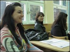 Marija Blatnjak in class