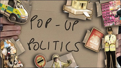 Pop-up politics