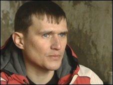 Former heroin addict, Sergei