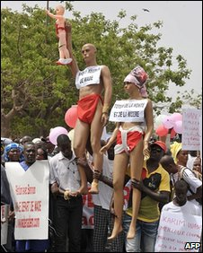Protest in Dakar