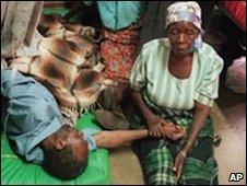 HIV patient, Malawi