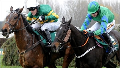 McCoy on his way to victory