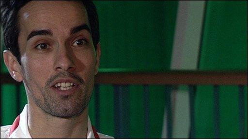 Olympic badminton silver medallist Nathan Robertson