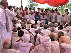 Caste council meeting (file photo)