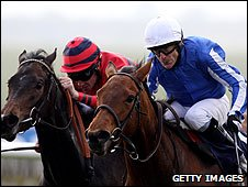 Kieren Fallon (right, on Music Show)