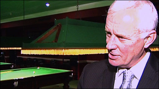 World Snooker chairman Barry Hearn