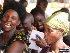 Burundian refugees celebrate as they get Tanzanian nationality