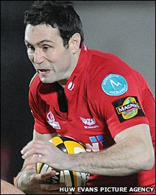 Scarlets fly-half Stephen Jones