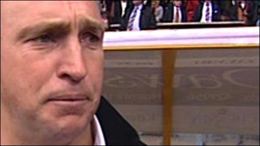 Huddersfield Giants coach Nathan Brown