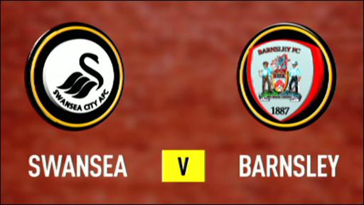 Swansea 3-1 Barnsley