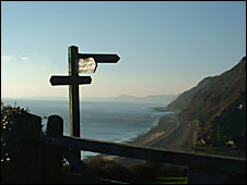 The coast path at Branscombe