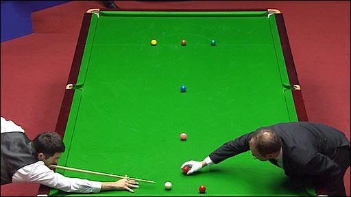 Ronnie O'Sullivan and Colin Humphries