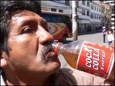 Coca Colla creator Victor Ledezma