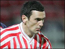 Derry City striker Mark Farren