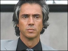 Paulo Sousa took over  from Roberto Martinez at Swansea in June 2009