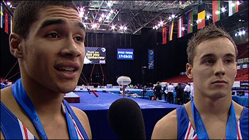 Louis Smith and Daniel Keatings