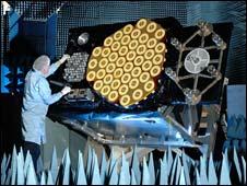 Galileo satellite antennas (Esa/EADS Astrium)