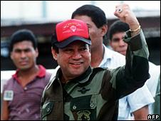 Manuel Noriega (4 October 1989)