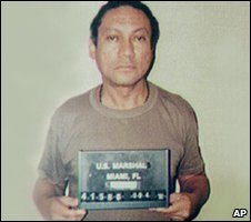 Manuel Noriega in 1990