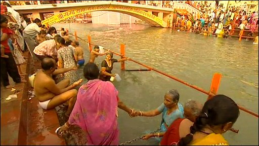 Millions will have bathed in the Ganges