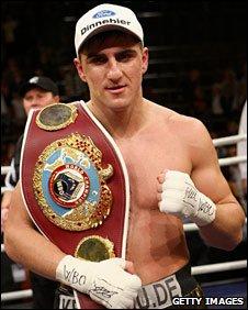 WBO cruiserweight champion Marco Huck