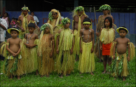 Yagua villagers