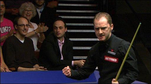 World Championship semi-finalist Graeme Dott