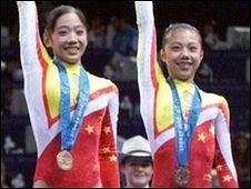 Yang Yun (left) and Dong Fangxiao
