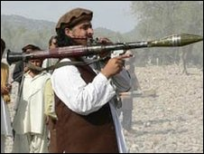 Taliban militant in Swat