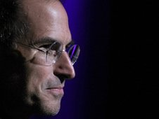Apple boss Steve Jobs