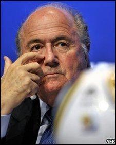 Sepp Blatter, Fifa President