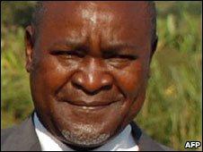 Vice-President Gilbert Bukenya